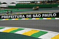 Formel 1 Wetter Brasilien: Sommerliches Wetter in Sao Paulo