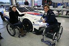 Alex Zanardi: Erster BMW-Test für 24 Stunden von Daytona 2019
