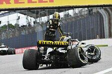 Formel 1, Hülkenberg frustriert: Crash darf mir nicht passieren