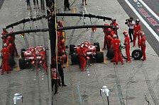 Formel 1 Brasilien: Vettel zerstört FIA-Waage, Strafe droht