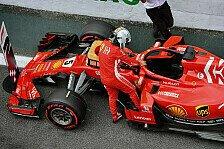 Formel 1: Geldstrafe und Verwarnung für Vettel für Wiege-Eklat
