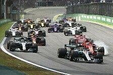 Formel-1-Kalender 2021 bestätigt - Sao Paulo verlängert