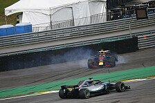Formel 1, Hamilton & Rosberg tadeln Verstappen: Risiko unnötig