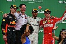Formel 1 2018: Brasilien GP - Podium