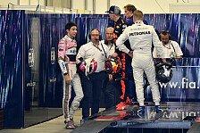 Formel 1, Villeneuve verteidigt Max: Zwei blaue Augen für Ocon