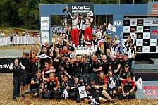 WRC Rallye Australien 2018: Alle Fotos vom 13. WM-Rennen