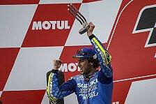 Alex Rins nach P2 in Valencia: MotoGP-Sieg 2019 das Ziel