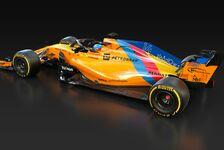 Fernando Alonso: McLaren im einmaligen Spezialdesign