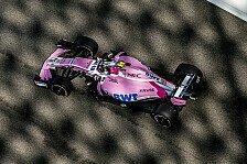 Formel 1 2019: Force India jetzt endgültig mit neuem Namen