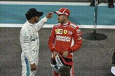 Formel 1, Vettel: Gehofft, dass Lewis' Reifen einbrechen