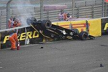 Formel 1 Abu Dhabi, Kritik nach Crash: Hülkenberg in Halo-Falle