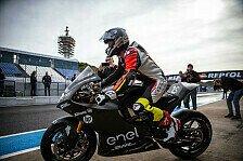 Erster MotoE-Test: Langsamer als Moto3, Smith mit Bestzeit