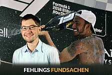 Formel 1, Fehlings Fundsachen: Hamilton zeigt Kreuz in Arabien