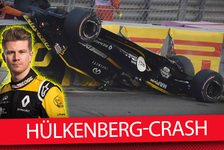 Formel 1 - Video: Hülkenberg-Crash in Abu Dhabi 2018: Halo - Retter oder Falle?