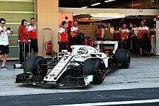Formel 1 - Kimi Räikkönen zurück im Sauber: Alle Fotos