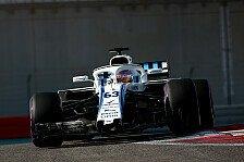 Formel 1: Russell-Lob nach Williams-Test: Immer noch F1-Auto