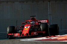 Formel-1-Test: Vettel-Bestzeit bei Räikkönens Sauber-Comeback