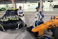 Formel 1 vs. NASCAR: Fernando Alonso & Jimmie Johnson