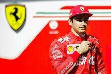 Formel 1: Charles Leclerc über ersten Ferrari-Test und Vettel