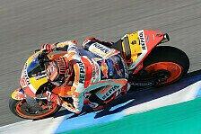 MotoGP Jerez 2019: Marc Marquez im ersten Freien Training vorn