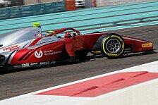 Mick Schumacher: Formel-2-Testfahrten in Abu Dhabi
