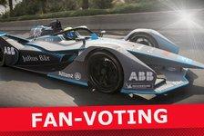 Fan-Voting: Das coolste Formel-E-Auto 2018/19