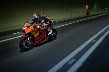 MotoGP - Video: MotoGP-Bike rockt Tunnel: Miguel Oliveira als Road Racer