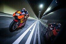 KTM-Rookie Miguel Oliveira heizt mit MotoGP-Bike durch Tunnel