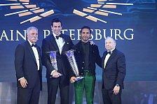 Formel 1 bei FIA-Gala: Hamilton, Mercedes und Leclerc geehrt