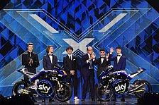 Das sind die neuen Bikes des Sky VR46-Teams