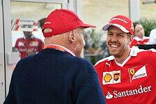 Vettel trauert um Niki Lauda: Brief war selbstverständlich