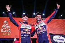Rallye Dakar 2019: Al-Attiyah gewinnt das erste Kräftemessen