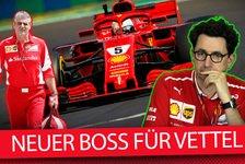 Binotto statt Arrivabene: So funktioniert Vettels neues Ferrari