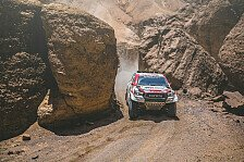 Dakar - Video: Rallye Dakar 2019: Highlights der 7. Auto-Etappe