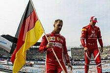 Guerra gewinnt Race of Champions, Schumi schmeißt Vettel raus