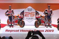 Live-Ticker: Repsol Honda enthüllt sein neues MotoGP-Motorrad