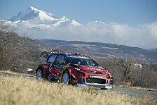 WRC Rallye Monte-Carlo 2019: Ogier führt, Loeb Fünfter