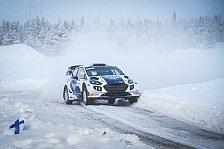 Formel 1: Valtteri Bottas bei der Arctic Lapland Rallye
