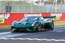 Neuer Brabham stellt inoffiziellen Rekord in Bathurst auf