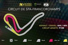 WRX Spa: Rallycross-Strecke führt durch Eau Rouge