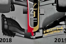 Formel 1 Technik-Check Haas VF-19: Das erste Auto 2019