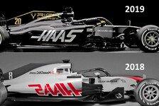 Formel 1 Bilderserie: 2019er Haas VF-19 im Technik-Check