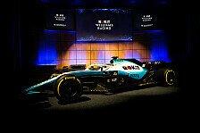 Formel 1, Williams-Präsentation 2019: Neue Lackierung für FW42