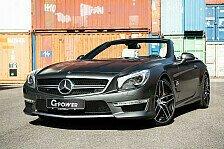 G-Power bringt den Mercedes SL auf 800 PS
