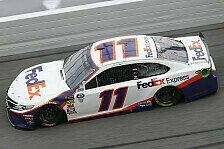 NASCAR Daytona 500: Denny Hamlin gewinnt Chaos-Saisonauftakt