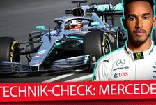 Formel 1 - Video: Formel-1-Autos 2019 im Technik-Check: Mercedes F1 W10