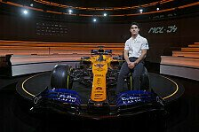 Formel 1 - Video: Formel 1 Präsentation: Der McLaren MCL34 im Video