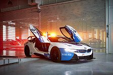 Formel E 2019: BMW zeigt i8 Safety Car in neuem Design