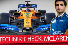 Formel 1 - Video: Formel-1-Autos 2019 im Technik-Check: McLaren MCL34