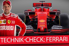 Formel 1 - Video: Formel-1-Autos 2019 im Technik-Check: Ferrari SF90